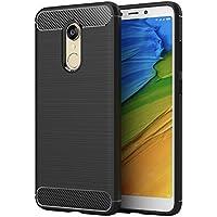 Elekin Xiaomi Redmi 5 Plus Custodia Cover, Ultra Sottile Protettiva Guscio in Silicone TPU Caso per Custodia Cover Xiaomi Redmi 5 Plus (Nero)