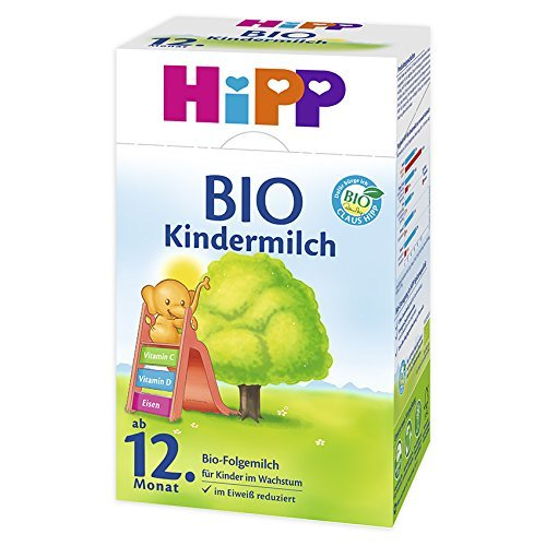 Hipp Bio Kindermilch ab 1 Jahr, 4er Pack (4 x 600 g) - Bio