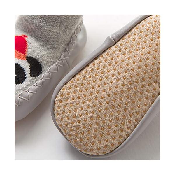 Adorel Calcetines Zapatos Antideslizantes Forros Bebé 2 Pare 2