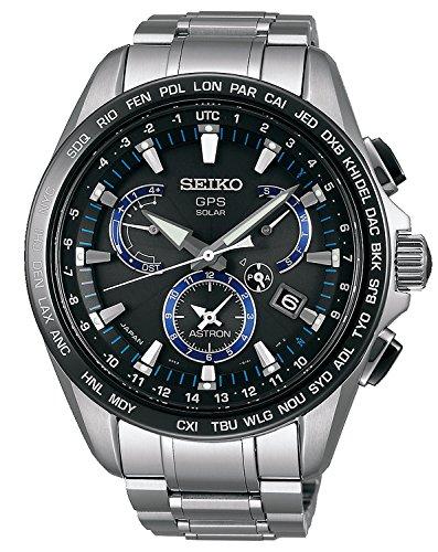 Seiko Astron GPS Solar Dual Time Herrenuhr SSE101J1
