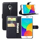 NEKOYA MEIZU MX4 Pro Wallet Case, Premium PU Leather Flip