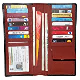 #6: Style98 LeatherATM Credit Card HOlder Long Wallet