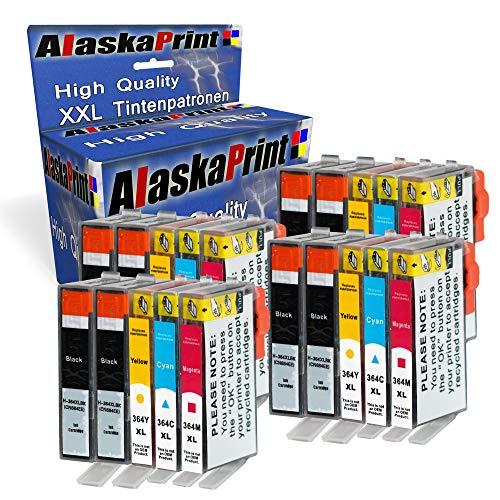 Alaskaprint 20x Druckerpatronen kompatibel für HP 364XL HP 364 XL mit HP Photosmart 5510 5511 5512 5514 5515 5520 5522 5524 6510 6520 6512 6515 7510 7520 7515 B8550 (Hp 5512 Photosmart)