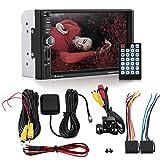 Duokon 7 Pouces 1024 x 600 Bluetooth Navigation GPS Stéréo HD Ecran Tactile Lecteur MP5 Caméra de recul à Distance 7020G