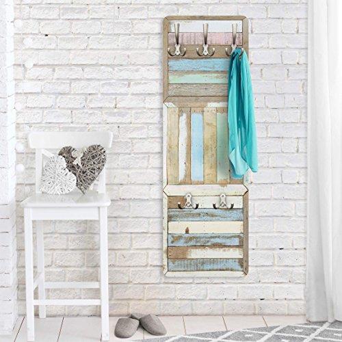 Garderobe - Top Holzoptik Garderoben, Größe HxB: 139cm x 46cm, Motiv: Rustic Timber