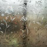 Verre Static Decorative Frosted Window glass film-ML008 (135cms X 90cms)
