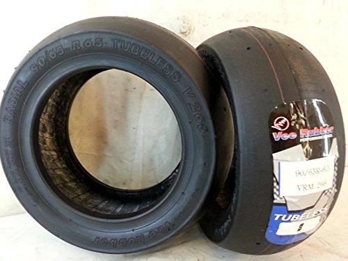 1 copertone 90/65 r-6.5 minimoto radiale tubless pneumatico vee rubber vrm266