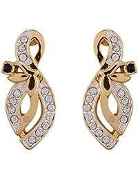 Estelle White Alloy Stud Earrings For Women (Eser-576/701)