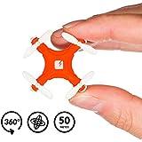 TRNDlabs - Skeye Pico Drone, color blanco / naranja (2621)