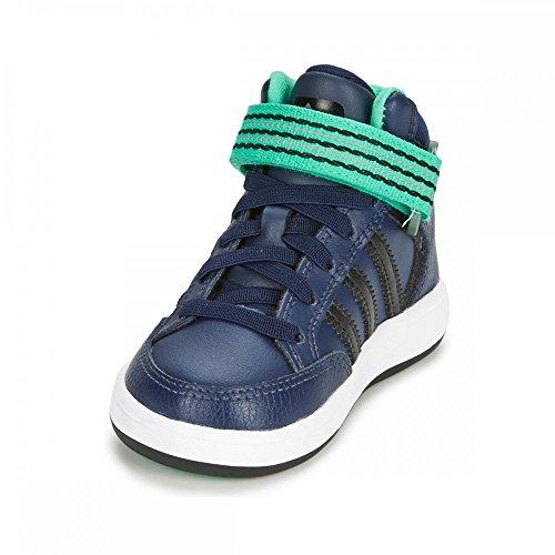 adidas Originals  Varial Mid I,  Unisex-Kinder Babyschuhe - Lauflernschuhe Blau - Bleu (Blnaco/Noiess/Mensol)