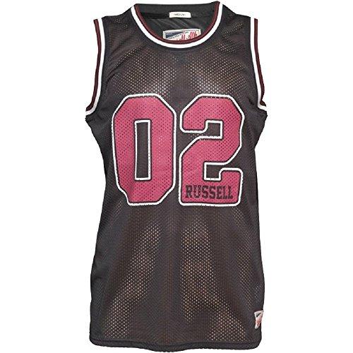 Russell Athletic - Maglietta sportiva -  uomo nero Medium