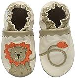 Robeez Glory, Chaussures de Naissance bébé garçon, Beige (Beige Clair), 23/24 EU