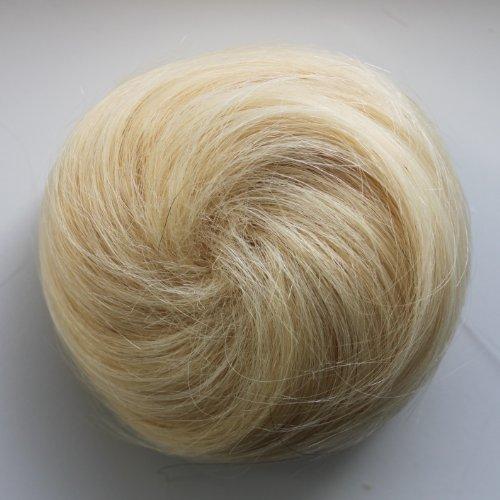 PRETTYSHOP 100% ECHTHAAR Human Hair DUTT Hochsteckfrisuren Haarteil Zopf Haarknoten Hepburn-Dutt Haargummi …