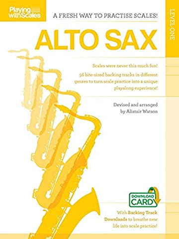 Playing With Scales: Alto Sax Level 1 (Buch & Download Card)