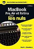 MacBook, Pro, Air et Retina pour les nuls