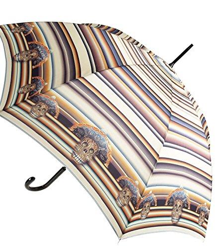 Parapluie Tête de mort coloré