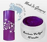 5ml UV Exclusiv Farbgel Edition 2015 Metallic Cosmic Purple