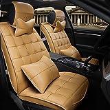 UO Vier Jahreszeiten Auto Kissen All - Inklusive Universal Sitzbezug , Beige,beige