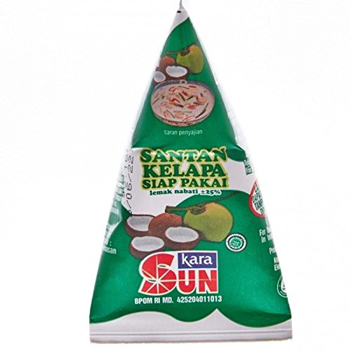 Sun Kara Santan Kelapa - Crème de Coco, 65 ml / 2,1 Oz (Lot de 6)