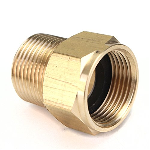 nbms m22 Messing- Druck unterlegscheibe Adapter mannlich zu weiblich