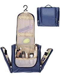 Toiletry Bag with Hanging Hook by House of Quirk Organizer for Travel Accessories