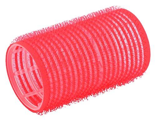 Solida Bigoudis, 36mm de diamètre, rouge, lot de 2(2x 12pièces)
