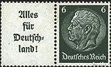 Prophila Collection Deutsches Reich W66 1936 Hindenburg WZ 4 (Briefmarken für Sammler)