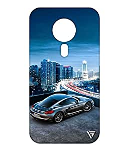 Vogueshell Sports Car Printed Symmetry PRO Series Hard Back Case for Meizu M3 Note
