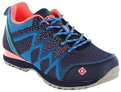Zapatillas multiactividad Hailey Izas Bluemoon/Turquoise/Coral