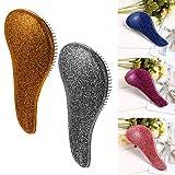 Voiks Detangling Brush - glide the Detangler Brush through Tangled hair - Best Brush/Comb for Women, Girls, Men & Boys - Use in Wet and Dry Hair