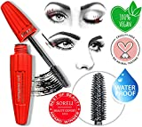 Mascara Black 2019 Edition 4D Silk Fiber Lash Mascara Volume Organic Cruelty Free