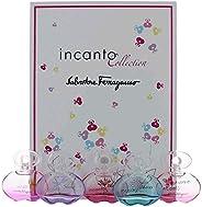 Incanto Collection Perfume 5 Piece Variety Mini Gift Set women NEW