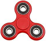 HENGSONG Fidget Toys Hand Spinner Finger Spielzeug für Kinder und Erwachsene Spielzeug Geschenke (Rot)