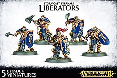 Warhammer Stormcast Eternals Liberators by Games Workshop