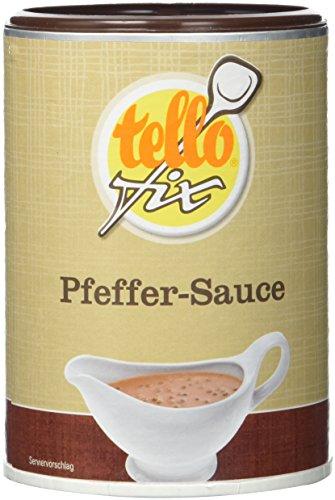 tellofix Pfeffer-Sauce , 1er Pack (1 x 168 g Packung)