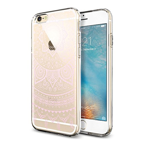 "iPhone 6s Hülle , iPhone 6 Hülle , iPhone 6 6s Silikon Hülle , ivencase Transparent Handyhülle Schutzhülle TPU Clear Case Backcover Bumper Slimcase Etui Tasche für Apple iPhone 6 6s 4.7"" aj51"