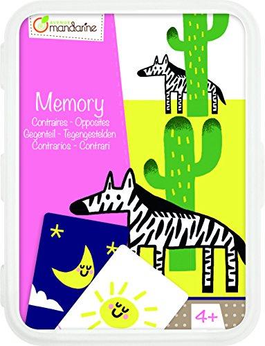 Avenue MandarineCO102O Un jeu de cartes - Mémoire des contraires