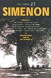 Tout Simenon, tome 27