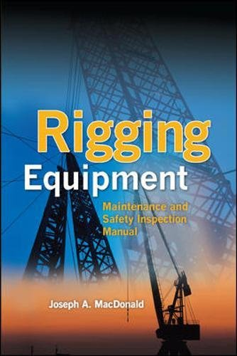 Rigging Equipment: Maintenance And Safety Inspection Manual -