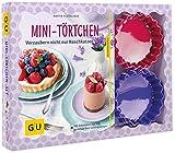 Mini-Törtchen-Set: Plus 12 Tartelette-Förmchen Ø 10 cm