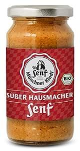 Münchner Kindl Senf Bio Süßer Hausmacher Senf, 200 ml