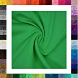 1 Meter Jersey Baumwolljersey Uni Farben, 220g/m²,