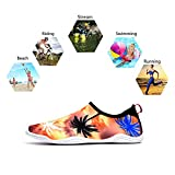 Upstartech Barefoot Water Shoes Mens Womens Quick Dry Unisex Sports Aqua Shoes Lightweight Durable Sole for Beach Pool Sand Swim Surf Yoga Water Exercise (11.5UK/46EU, Style 8)