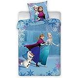 Frozen El Reino del Hielo Funda Nórdica Anna, Elsa & Olaf on Ice 140 x 200 cm