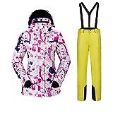 Damen Skianzüge Outdoor-Bewegung Warmhalten Jacken Anzug Winddicht...