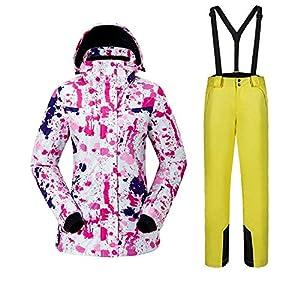 Damen Skianzüge Outdoor-Bewegung Warmhalten Jacken Anzug Winddicht Antistatisch