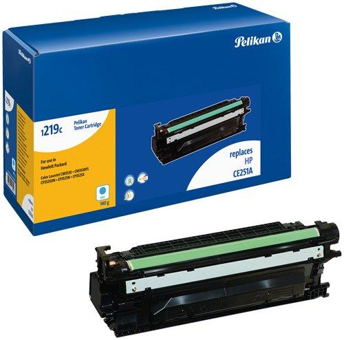 Pelikan Toner-Modul 1219c ersetzt HP CE251A, Cyan, 8750 Seiten - Drum Kit Laserjet