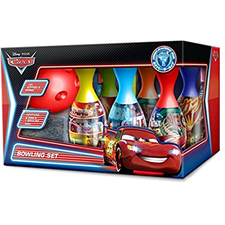 Speelgoed DSC-S14-3017 – Cars Kegelspiel