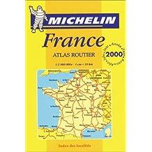 Atlas routier et touristique de France, édition 2000