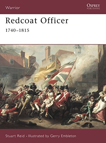 Redcoat Officer: 1740-1815 (Warrior, Band 42)